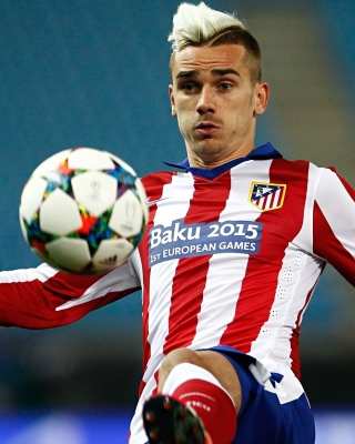 Antoine Griezmann Wallpaper for Nokia Asha 306
