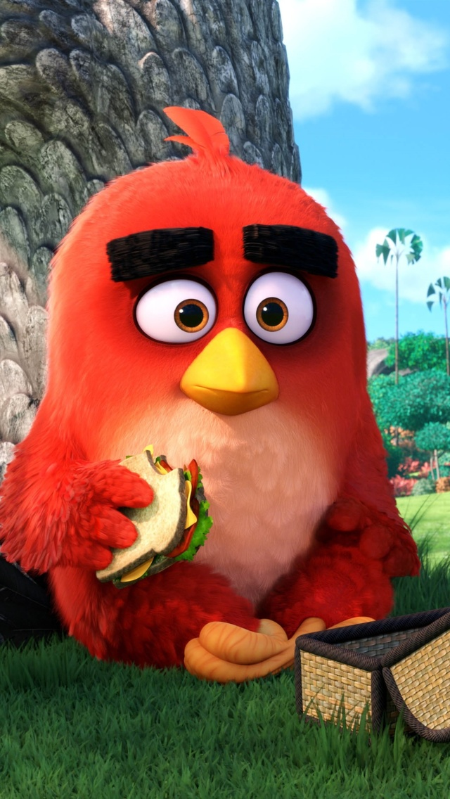 Angry Birds screenshot #1 640x1136