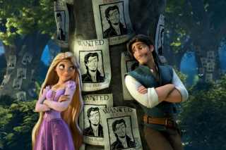 Kostenloses Tangled Wanted Reward Wallpaper für Android, iPhone und iPad