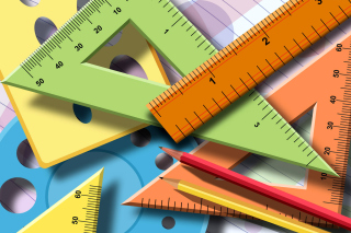Geometry Instruments for Science Research Wallpaper for Android, iPhone and iPad