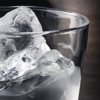 Ice In Glass Background for 2048x2048
