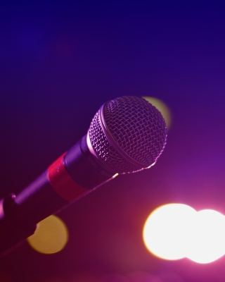 Microphone for Concerts Background for 480x640