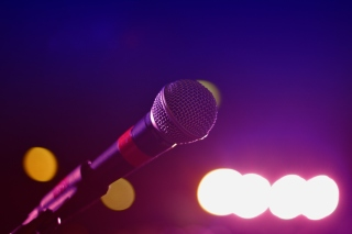 Microphone for Concerts Background for 480x400