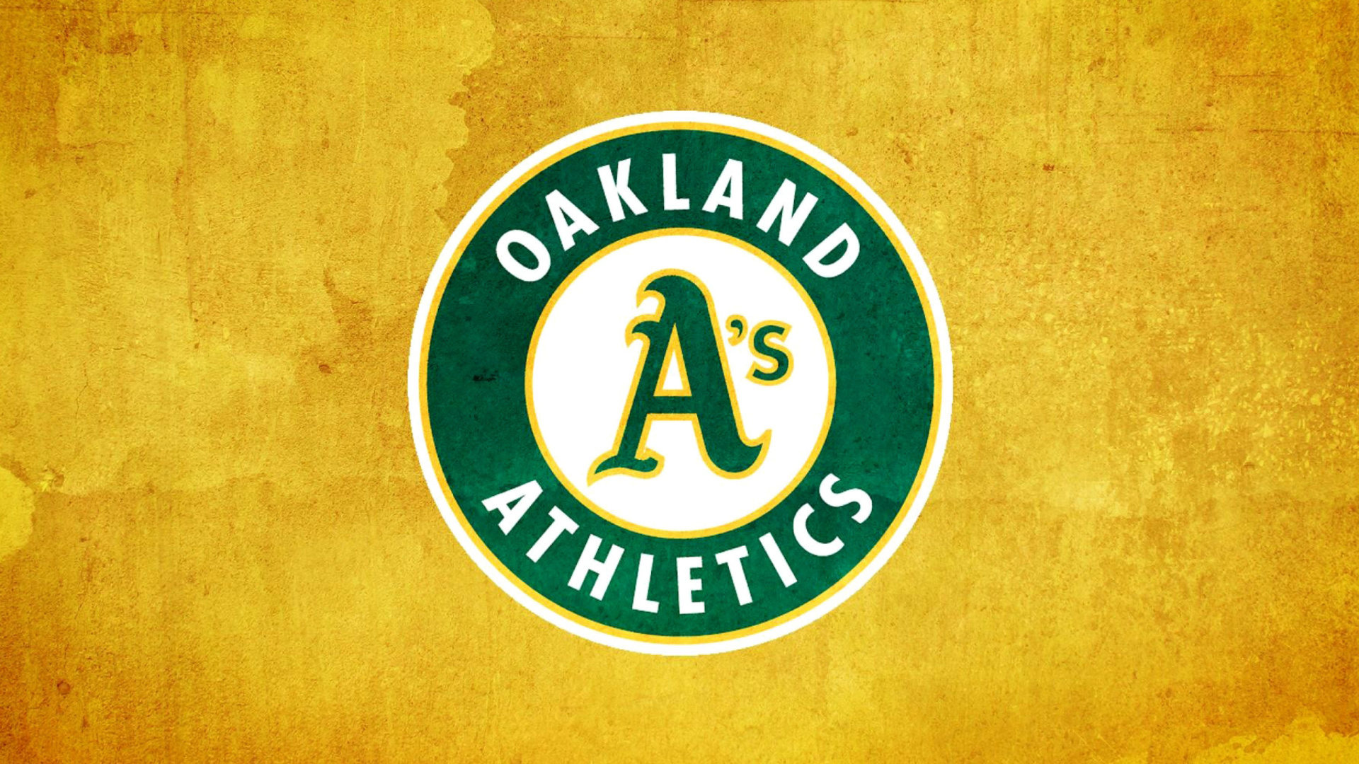 Screenshot №1 pro téma Oakland Athletics 1920x1080