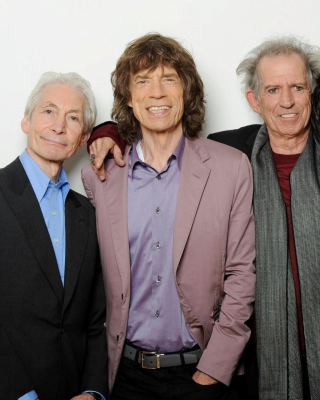 Rolling Stones, Mick Jagger, Keith Richards, Charlie Watts, Ron Wood - Obrázkek zdarma pro Nokia X6