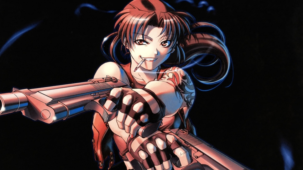 Black Lagoon Anime Revy Pirates wallpaper 1280x720