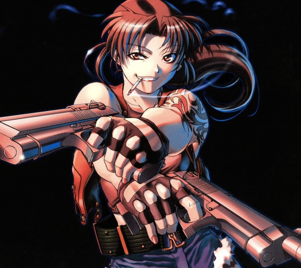 Screenshot №1 pro téma Black Lagoon Anime Revy Pirates 960x854