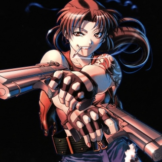 Black Lagoon Anime Revy Pirates sfondi gratuiti per iPad Air