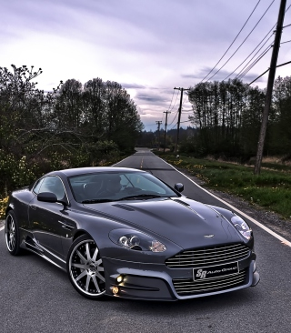 Aston Martin Wallpaper for 240x320