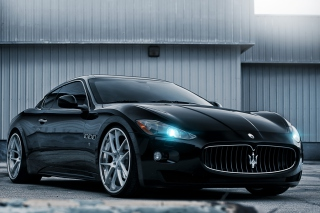 Maserati GranTurismo HD Background for Android, iPhone and iPad