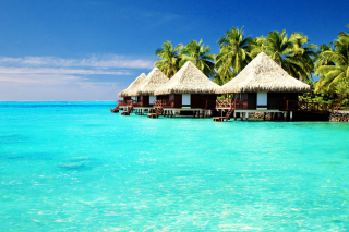 Maldives Islands best Destination for Honeymoon - Obrázkek zdarma pro Nokia Asha 210