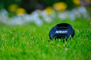 Nikon Lense Cap Wallpaper for 1920x1080