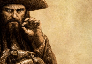Free Captain Blackbeard Picture for Android, iPhone and iPad