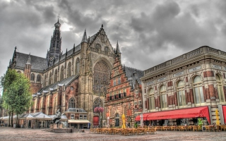 Haarlem Background for Android, iPhone and iPad