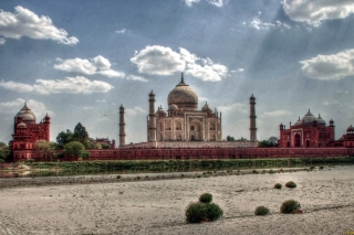 Taj Mahal, India Wallpaper for Android, iPhone and iPad