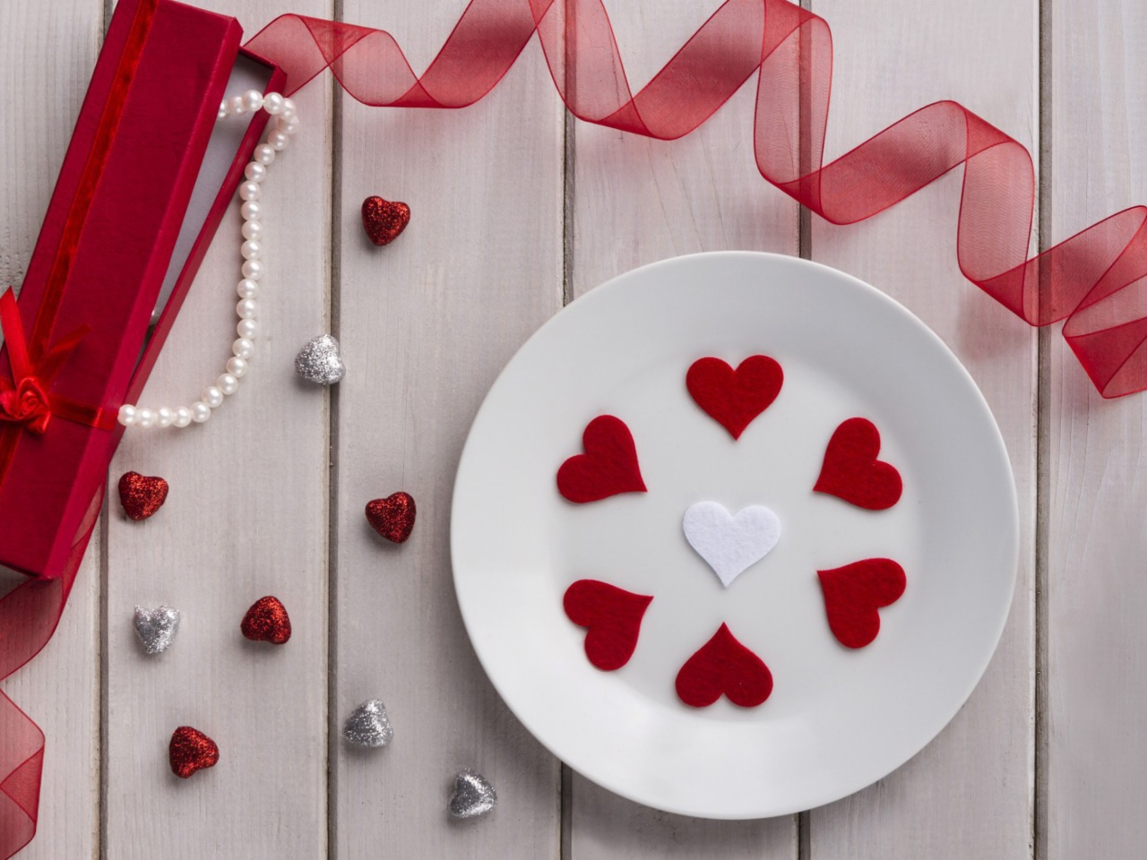 Screenshot №1 pro téma Romantic Valentines Day Table Settings 1280x960