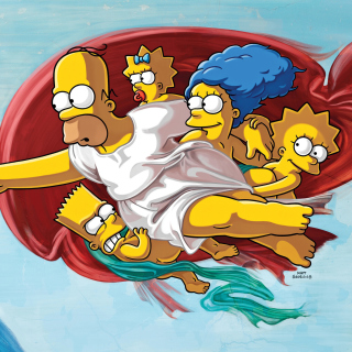 Simpsons HD Wallpaper for iPad 3