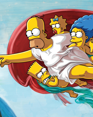 Free Simpsons HD Picture for Nokia C5-06