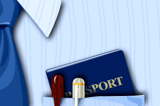 Free Passport Clip Art Picture for Android, iPhone and iPad