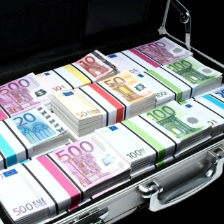 Bundle Of Euro Banknotes - Fondos de pantalla gratis para iPad Air