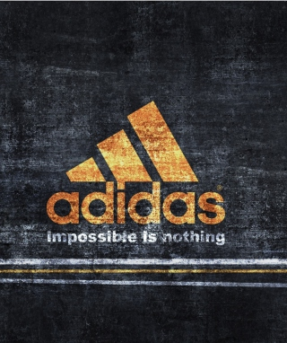 Adidas – Impossible is Nothing - Obrázkek zdarma pro iPhone 4S