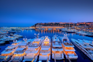 Monaco Hercules Port Background for Android, iPhone and iPad