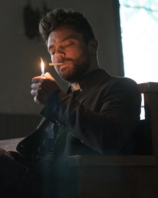Preacher TV series Wallpaper for iPhone 6 Plus