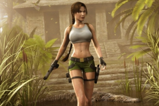 Lara Croft Picture for Sony Tablet S