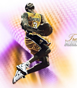 Free Trevor Ariza - Los-Angeles Lakers Picture for Nokia 5800 XpressMusic