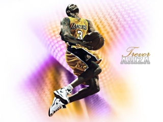 Trevor Ariza - Los-Angeles Lakers Picture for Desktop Netbook 1366x768 HD