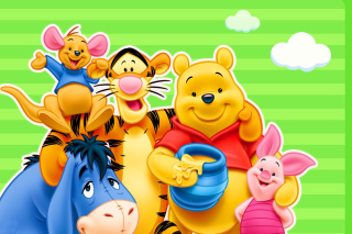 Kostenloses Winnie the Pooh Wallpaper für Android, iPhone und iPad