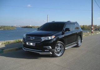 Free Toyota Highlander Picture for Android, iPhone and iPad
