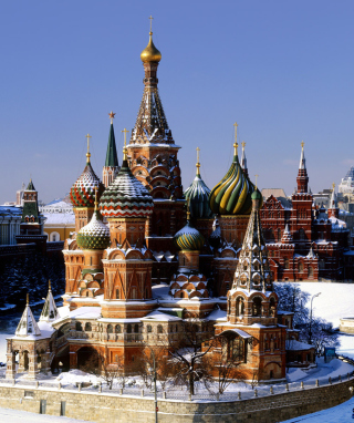 Free Moscow - Red Square Picture for iPhone 6 Plus