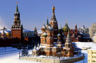 Moscow - Red Square Wallpaper for Samsung Galaxy Ace 4