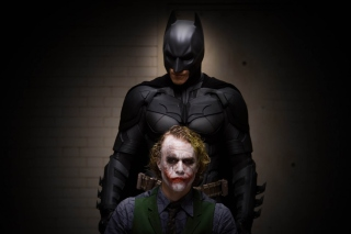 Free Batman And Joker Picture for Android, iPhone and iPad