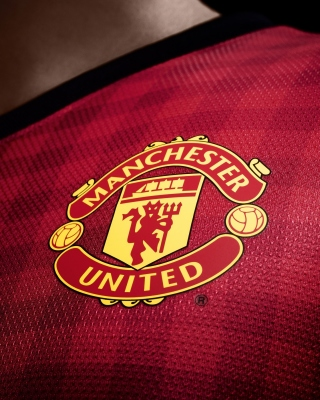 Free Manchester United Logo Picture for Nokia C-5 5MP