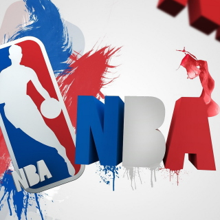 NBA Logo sfondi gratuiti per iPad Air