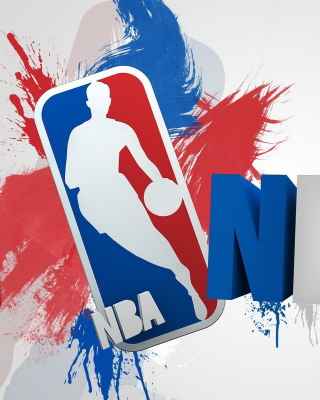 NBA Logo Wallpaper for Nokia Asha 306