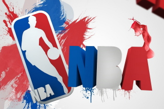 NBA Logo Background for 1200x1024