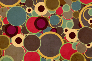 Abstract Circles Background for 480x320