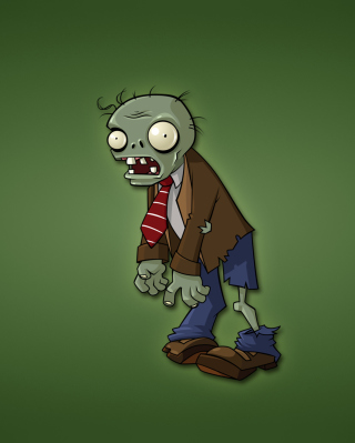 Zombie Drawing Picture for 240x320