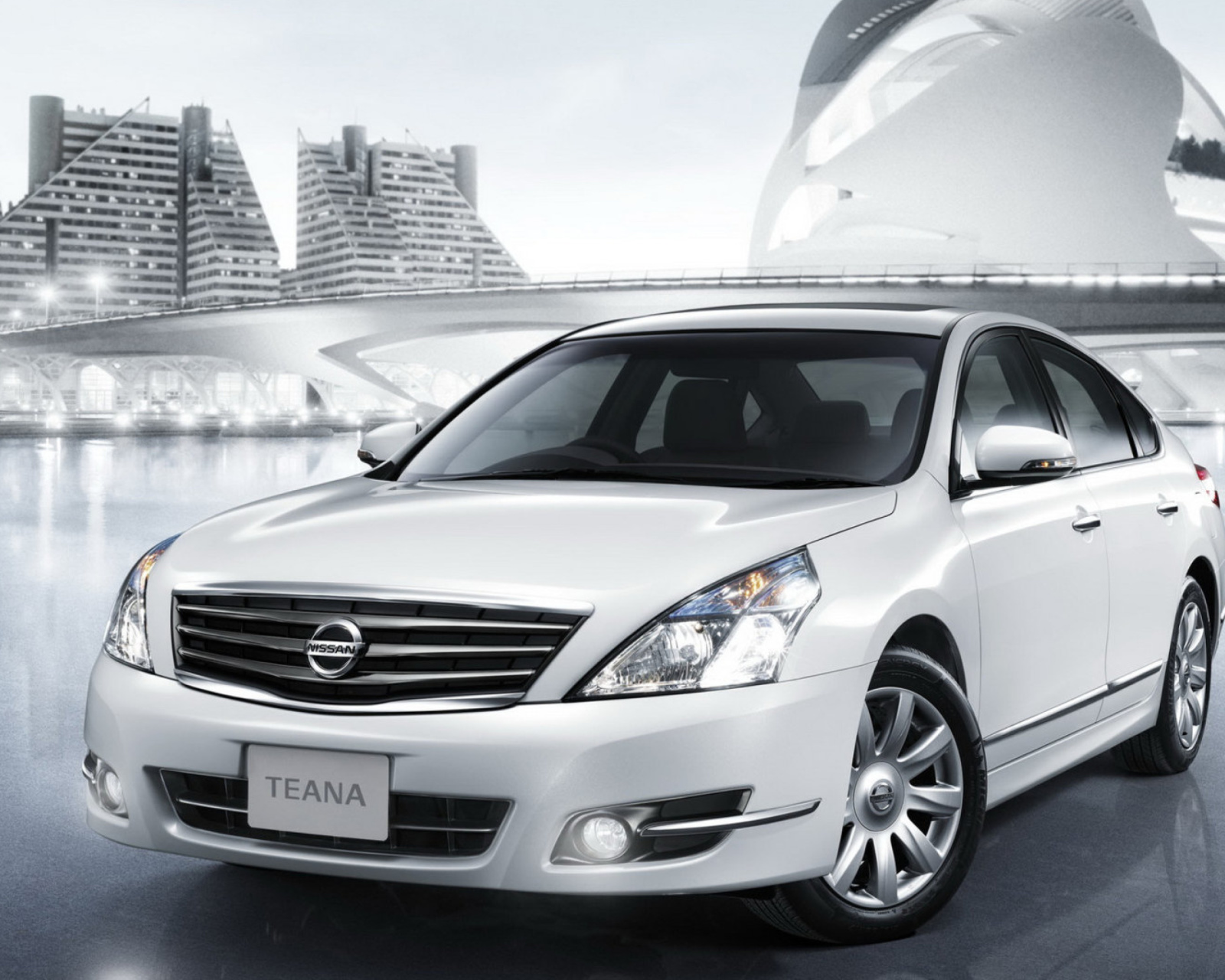 Das Nissan Teana Sedan Wallpaper 1600x1280
