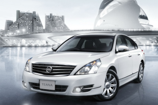 Nissan Teana Sedan Background for Android, iPhone and iPad