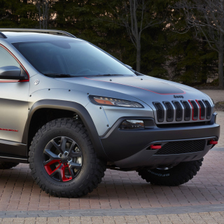2016 Jeep Cherokee Trailhawk 4WD Background for iPad