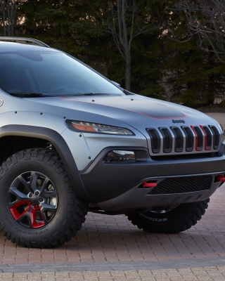 2016 Jeep Cherokee Trailhawk 4WD Background for Nokia X2-02