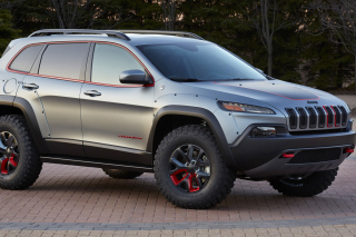 2016 Jeep Cherokee Trailhawk 4WD Background for Android, iPhone and iPad