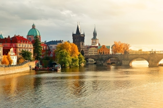 Charles Bridge Wallpaper for Android, iPhone and iPad
