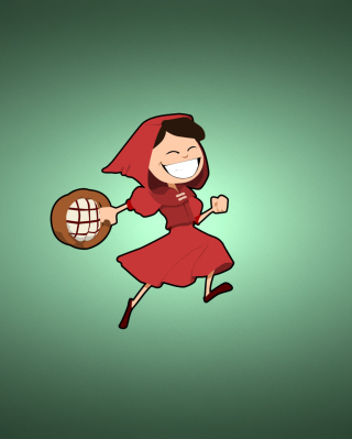 Red Riding Hood Wallpaper for Nokia C1-01
