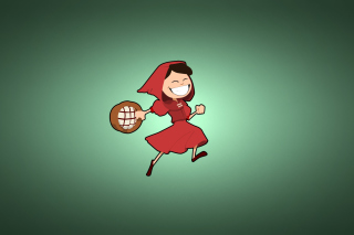 Red Riding Hood Background for Android, iPhone and iPad