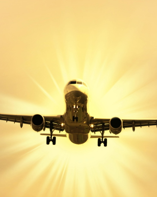 Free Airplane Takeoff Picture for 240x320